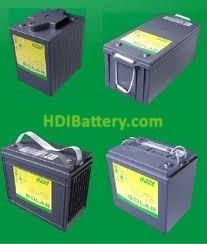 Bateria solar HAZE 12v 135 Ah HZY-SL12-135